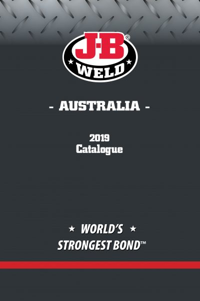 JB Weld Catalogue cover 2019